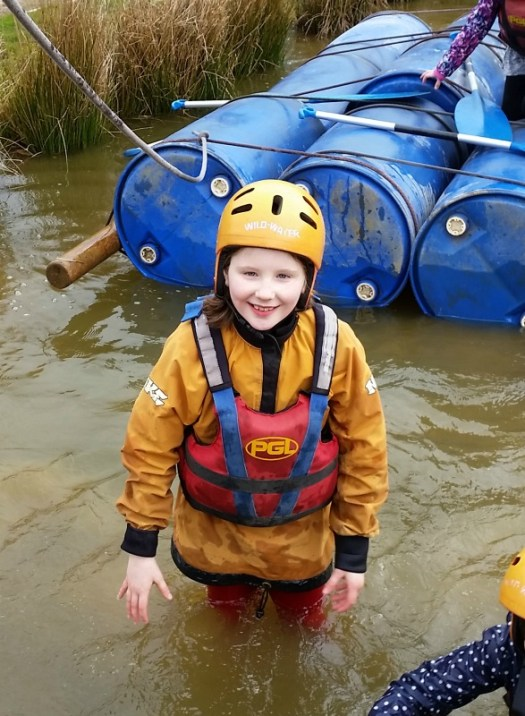 raft building at PGL Marchants Hill