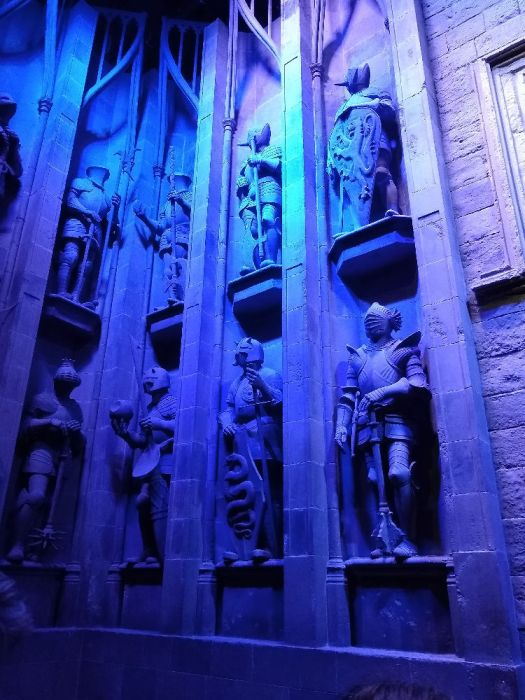 Statues by the Great Hall