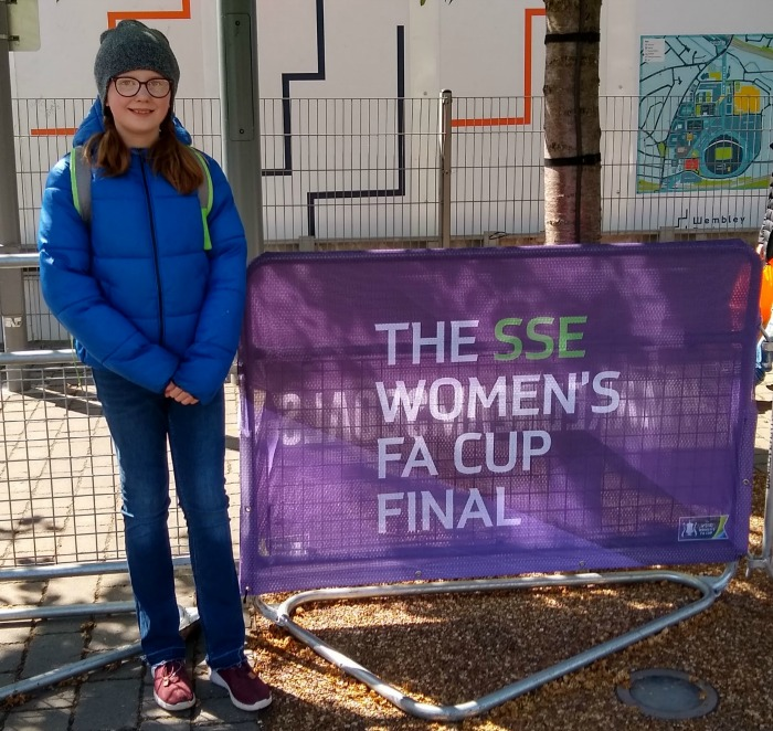 Women's FA Cup Final 2019 banner