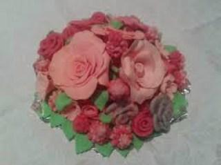 bouquet in pasta di zucchero