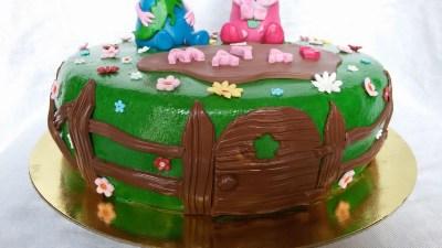 3th Birthday Peppa Pig · Peppa Pig Cake