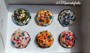 cupcake decorati con mashmellow