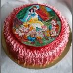 Torta Biancaneve e i sette nani per Bianca