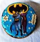 Batman & joker cake