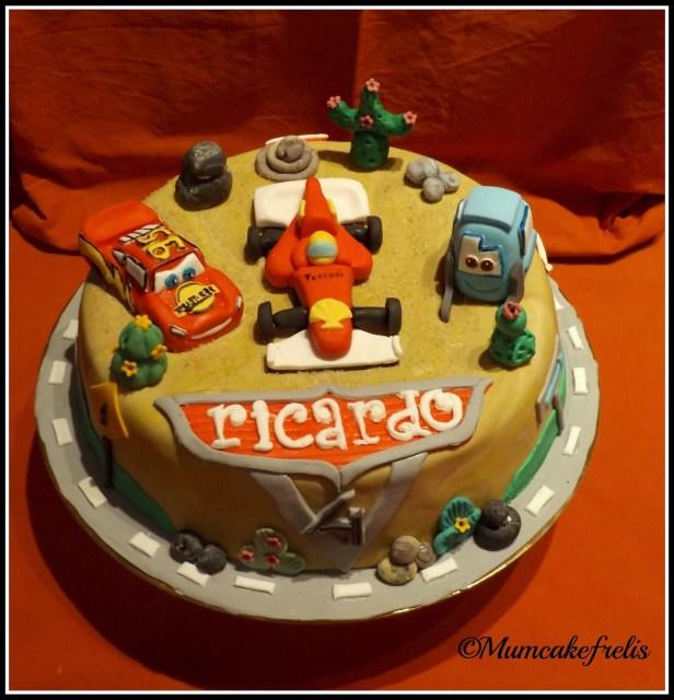 Disney Cars Cake Ideas theme birthday cake