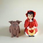 Cappuccetto rosso e il lupo