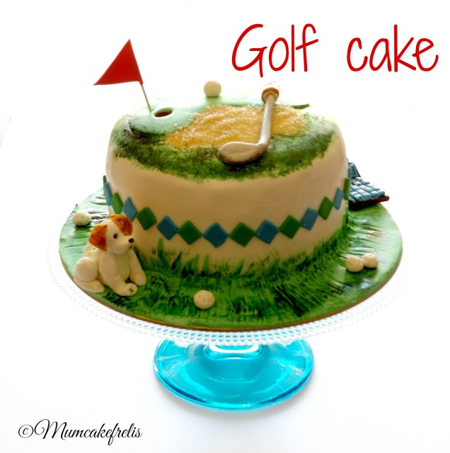 Golf Cakes Sweet expressions by Mumcakefrelis