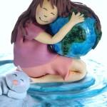 Earthday2015 cake topper