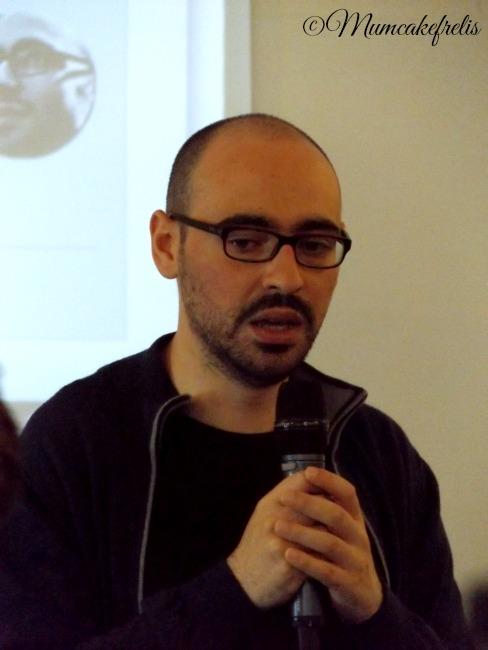 Salvatore Aranzulla che parla di SEO al mammacheblog 2015 dell' 8-9 maggio organizzato da fattoremamma