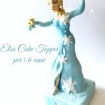 Elsa Frozen cake topper