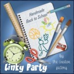 Linky party Handmade back to school