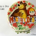 Masha & Orso Cake per Maya