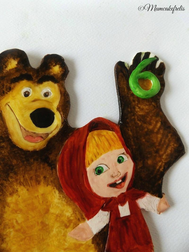 masha & orso dipinti