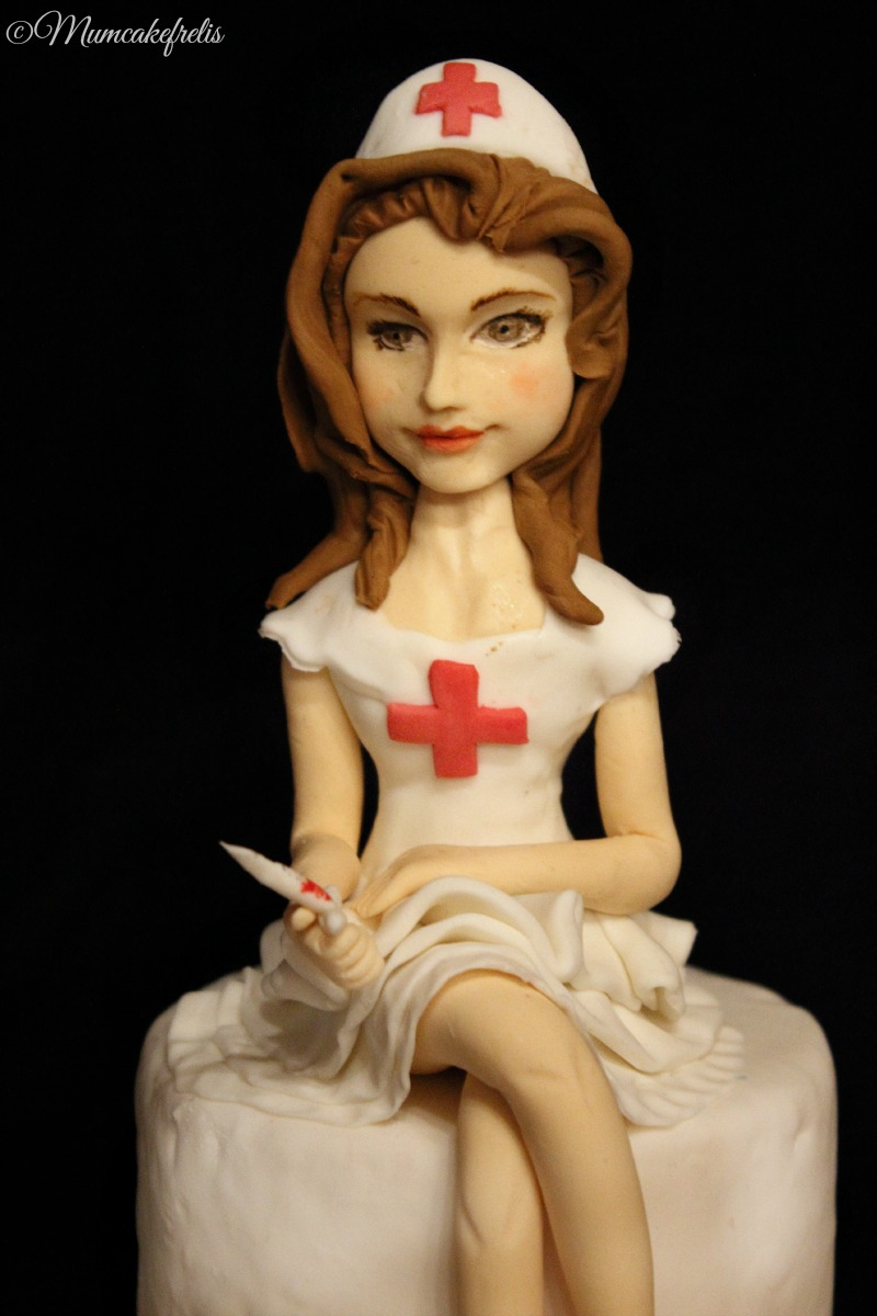 nurse modeling fondant