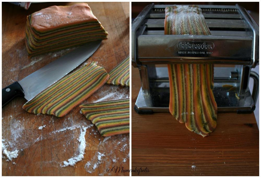 sfoglia multicolore per ravioli