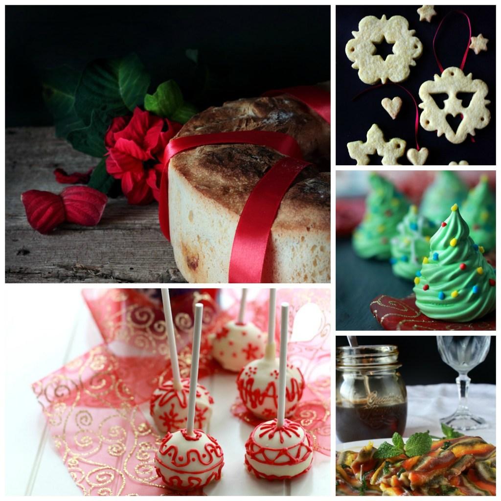 Collage natalizio