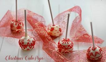 Cake Pops Natalizi