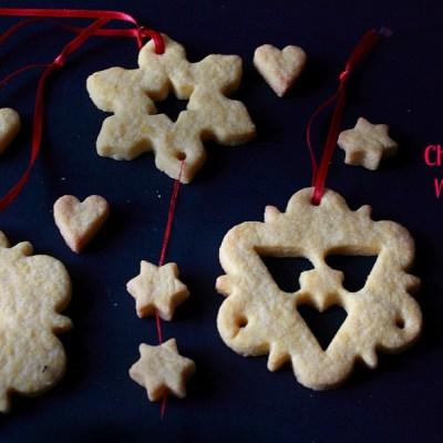 Ghirlande di biscotti natalizi
