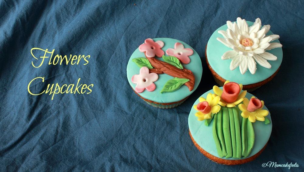 Cupcakes fioriti
