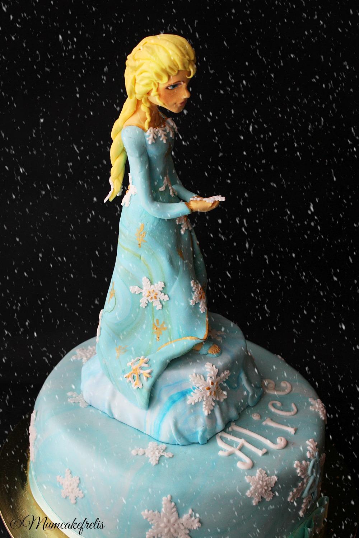 Torta con Elsa