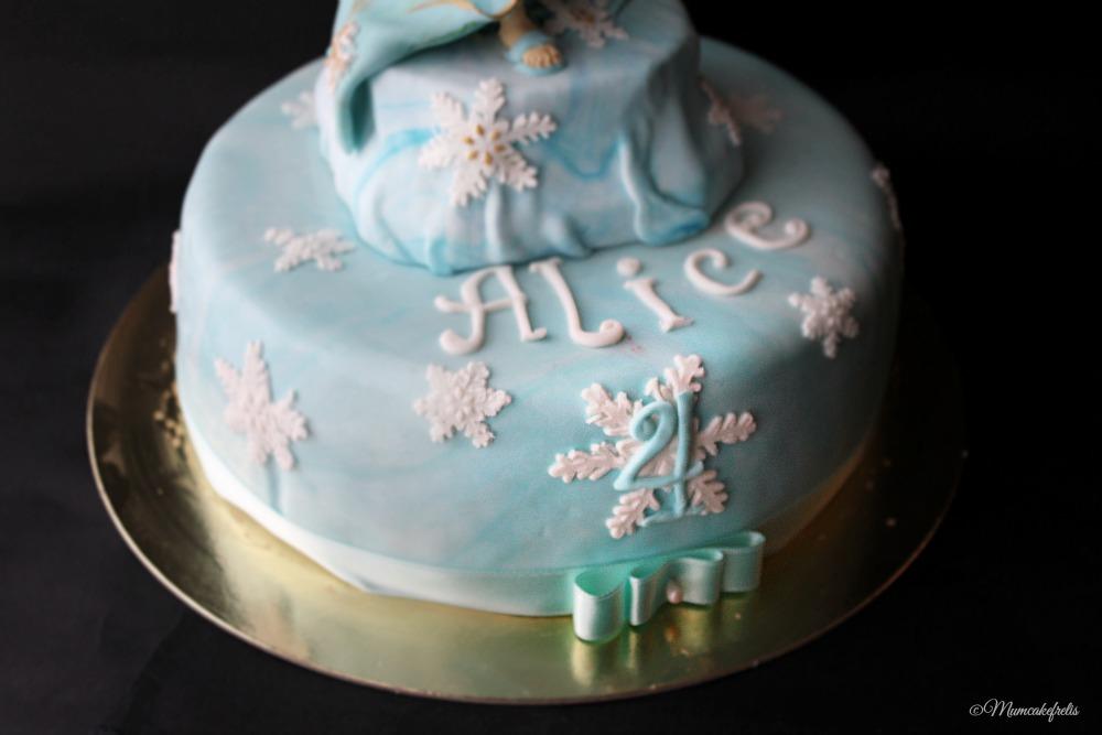 Elsa Cakes Decor