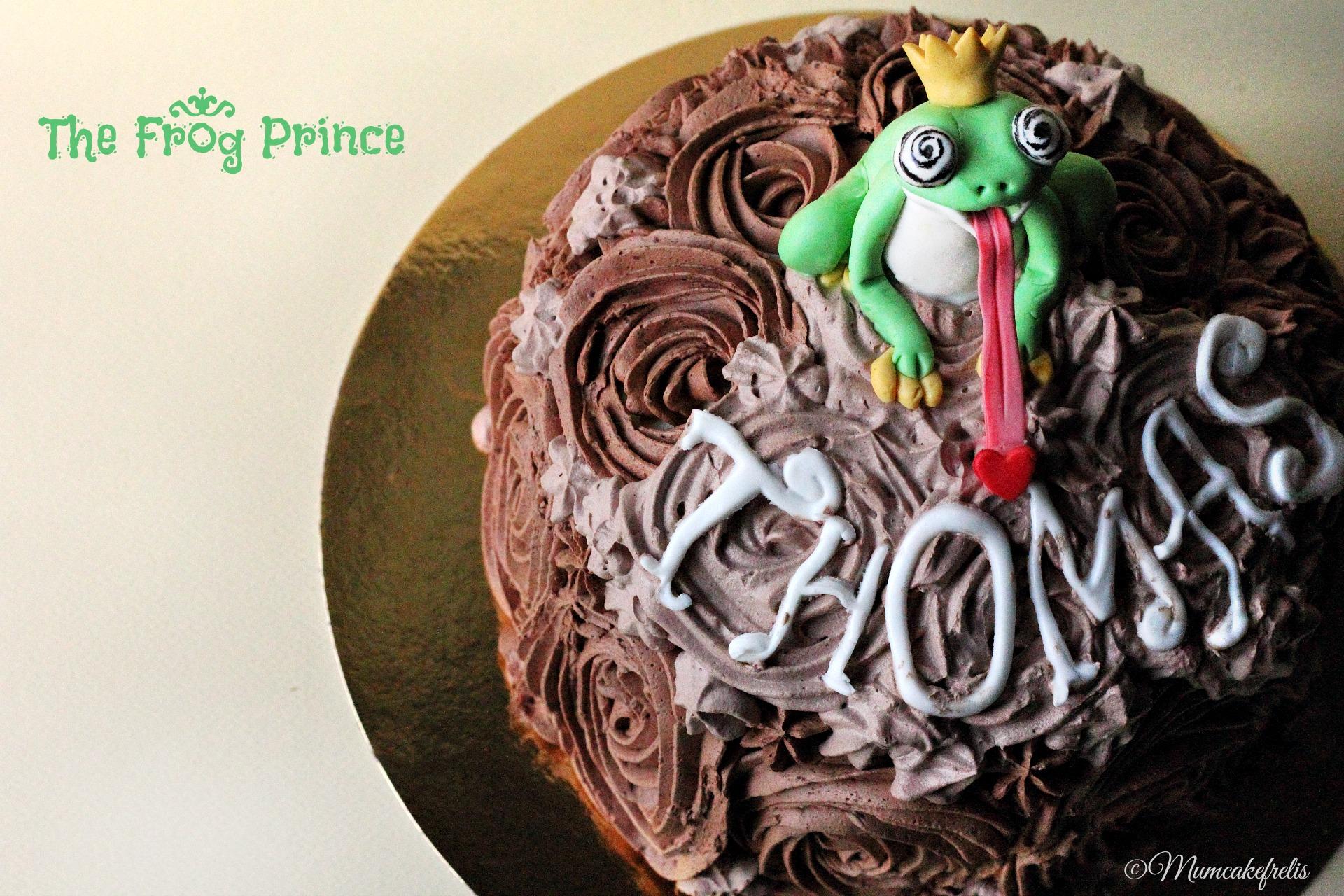 Il principe ranocchio - The Frog Prince Cake - mum cake frelis 52785e11bca0