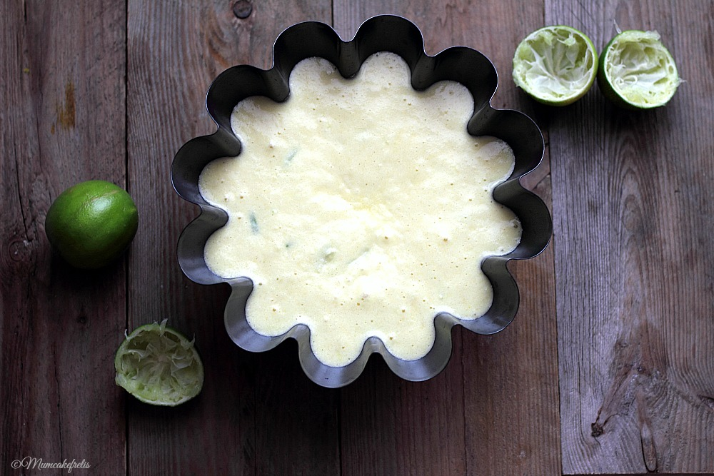Lime Chiffon Cake Recipe