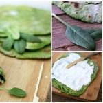 Piadine di spinaci per Instamamme