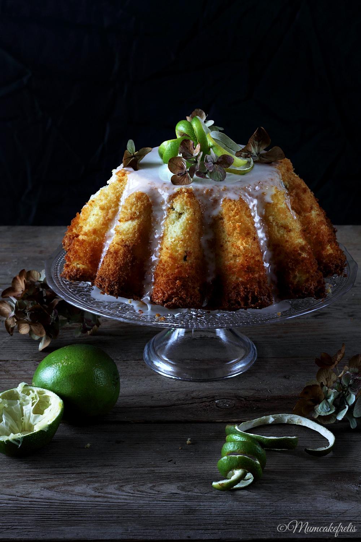 Fresh Lime Chiffon Cake
