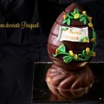 Uova Pasquali decorate con pasta di zucchero