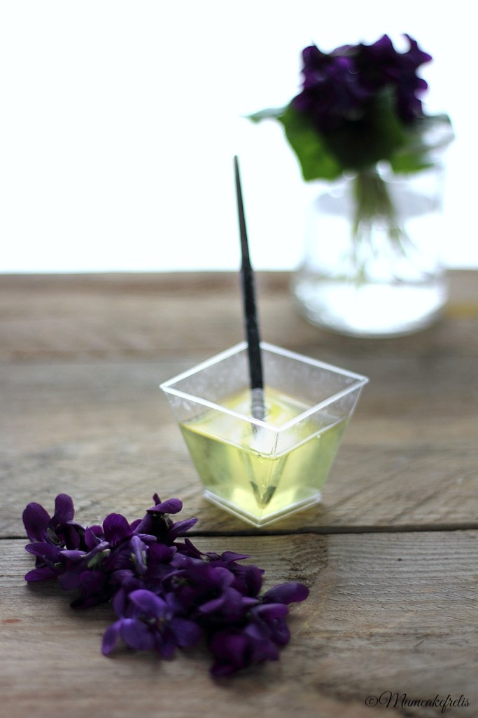 violette glassate