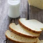 Pane al latte di Hokkaido con tangzhong.