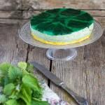 Cheesecake salata alle ortiche