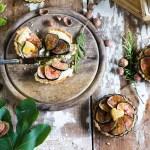 Tartellette fichi, nocciole e rosmarino