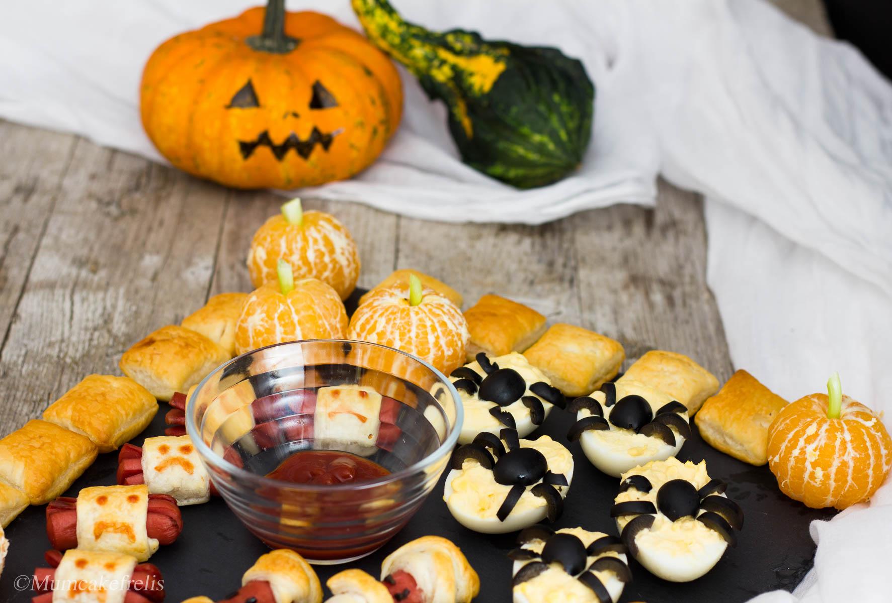 antipasti sfiziosi halloween