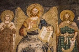 abbazia di pomposa affreschi vitale da bologna
