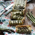 La crostata salata di asparagi; 2 versioni per tutti i gusti!