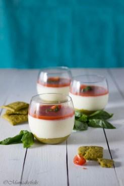 cheesecake salata con Inalpi