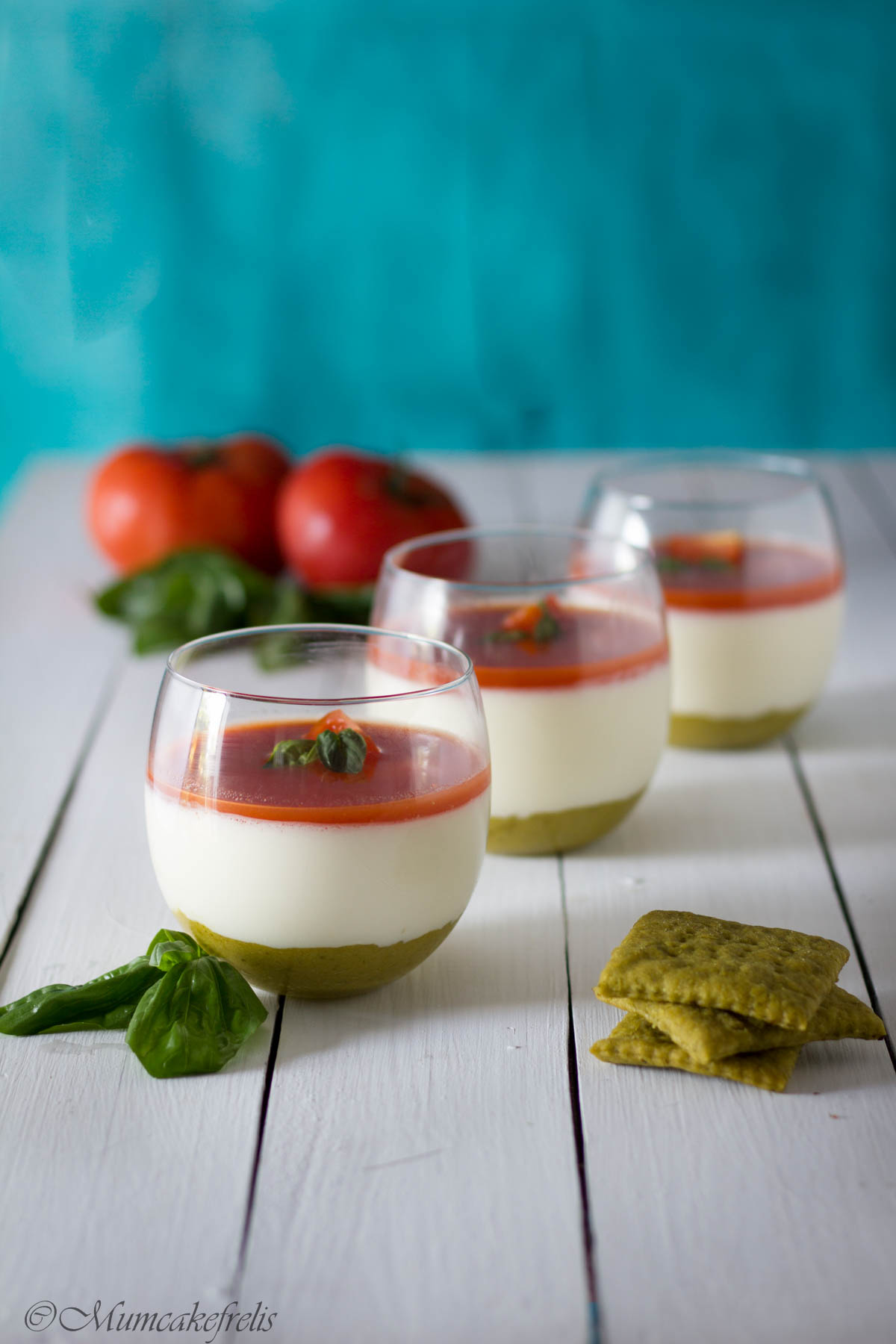 mini cheesecake caprese Inalpi