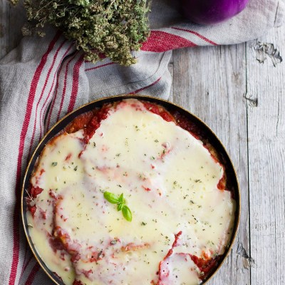 La parmigiana di melanzane in padella