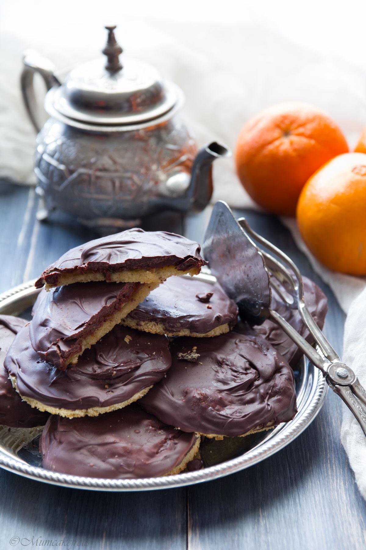 ricetta delle jaffa cake