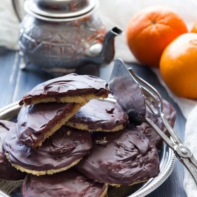 Jaffa cake, tortine con gelatina di arancia.