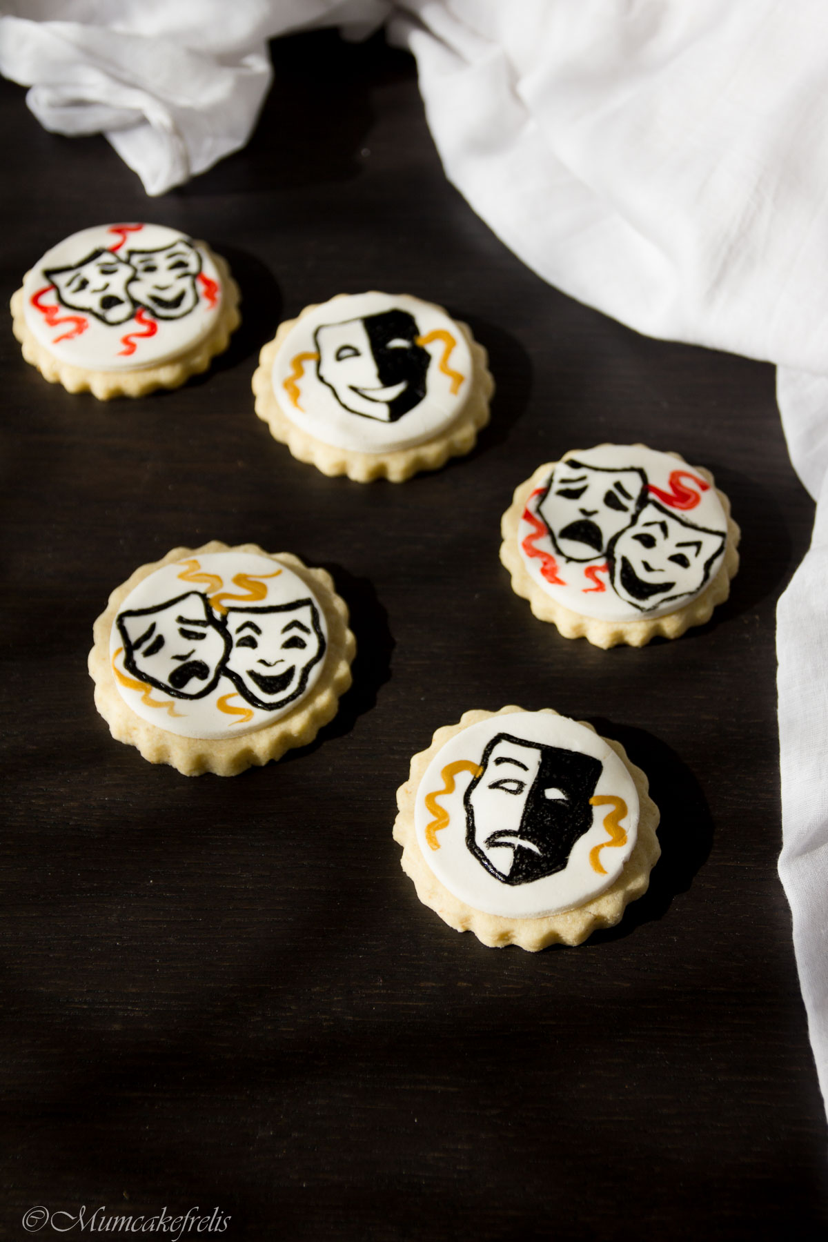 biscotti per Giornata Mondiale del Teatro
