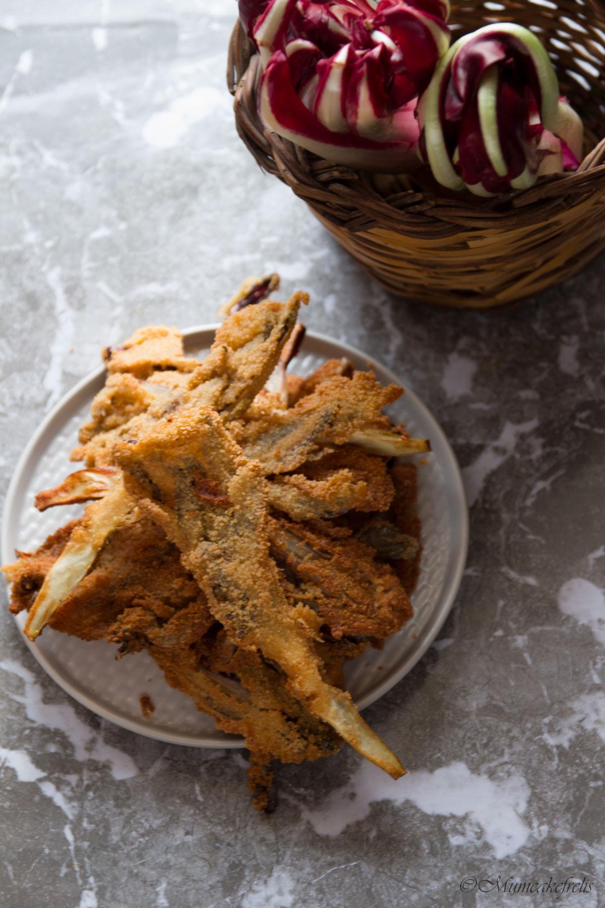 radicchio fritto ricetta