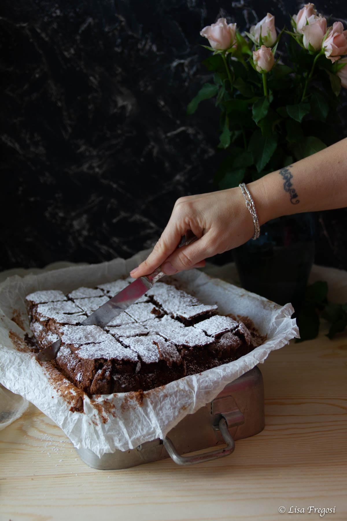 Caprese al cioccolato di Sal De Riso