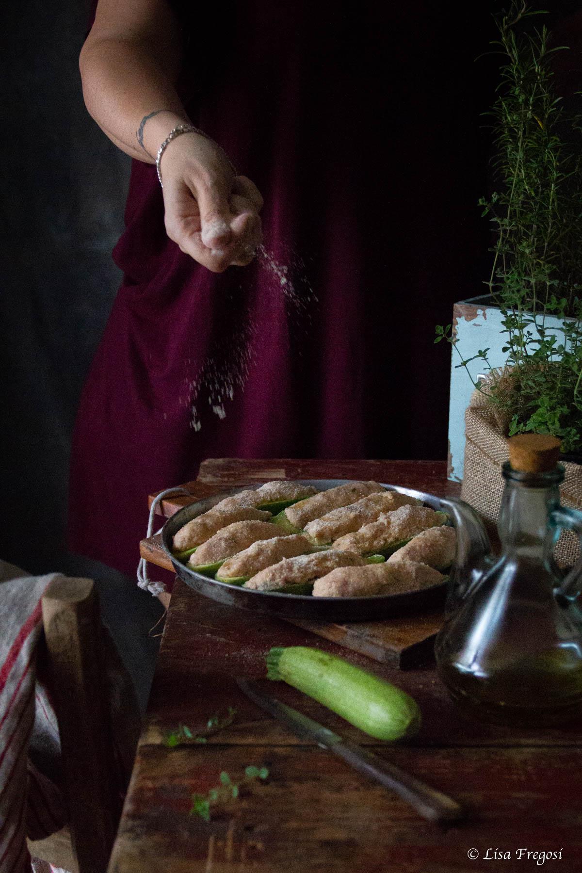 le ricette liguri: zucchine ripiene