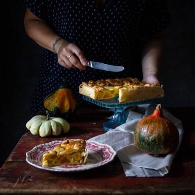 Torta salata di zucca e salsiccia, l'autunno in tavola!                                        5/5(1)