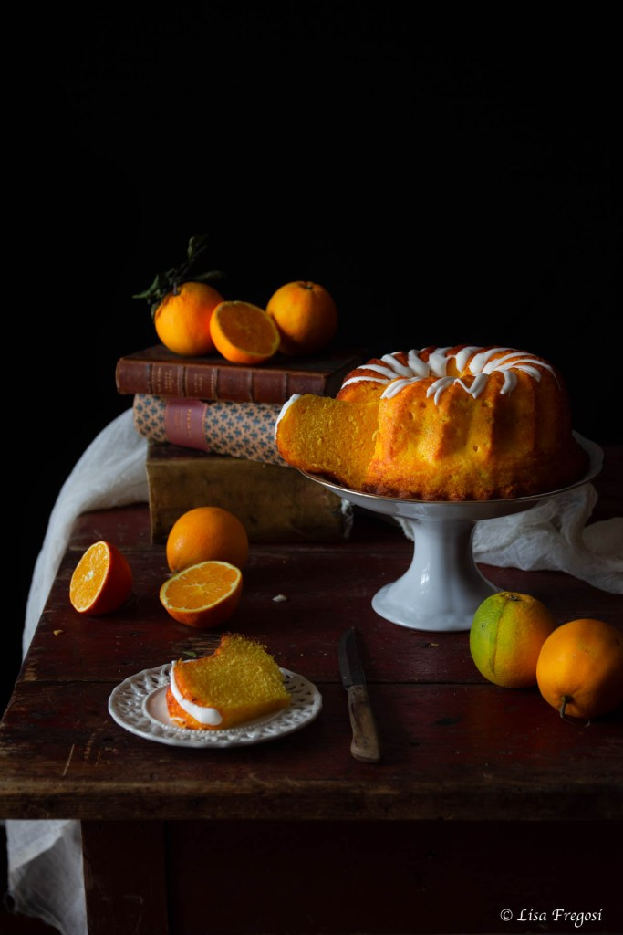 come fare la chiffon cake all'arancia