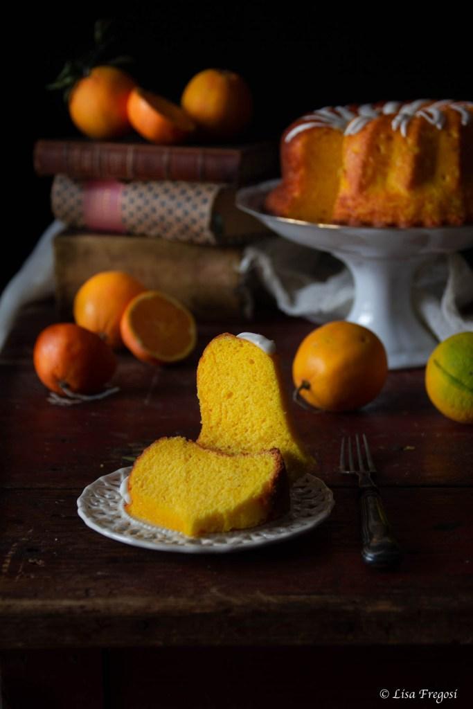 come fare la chiffon cake all'arancia