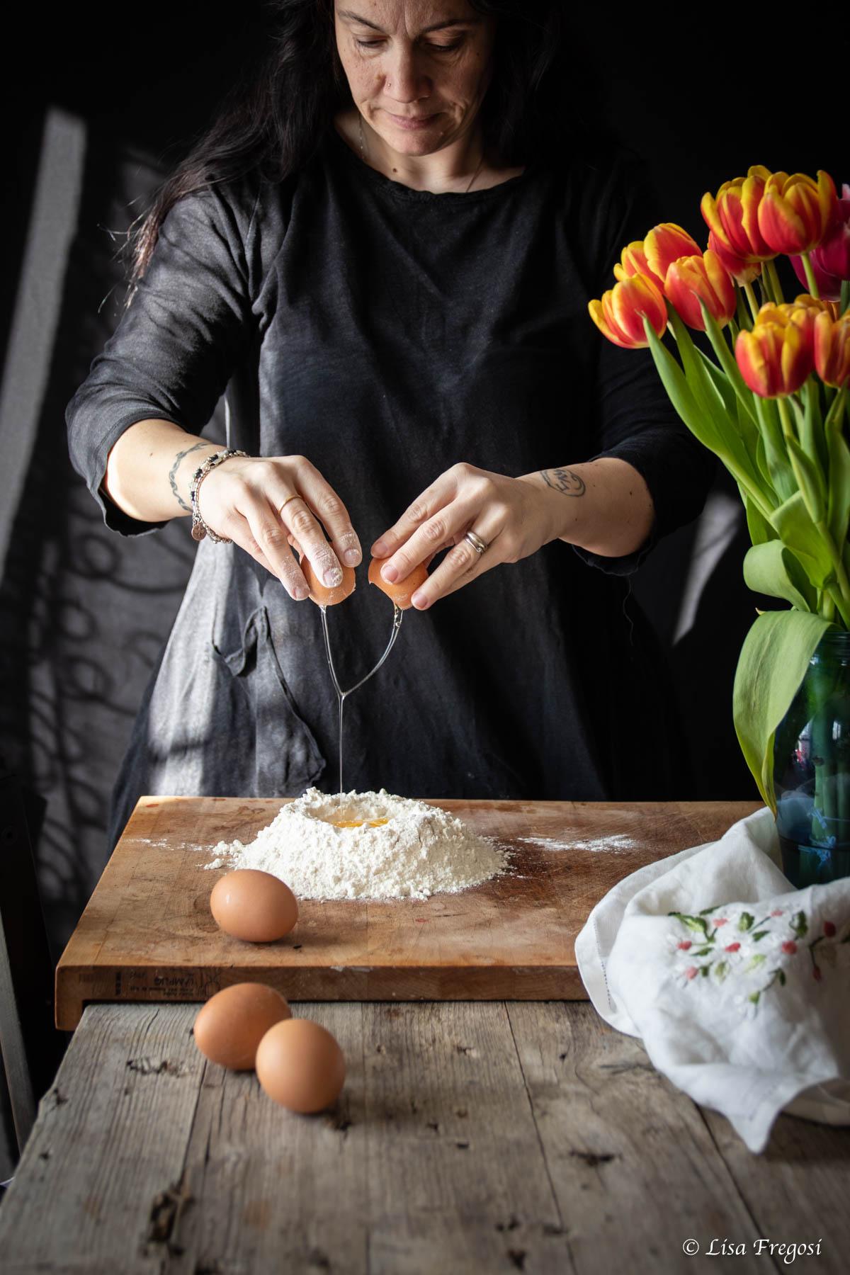 bigoli all'uovo ricetta Veneta